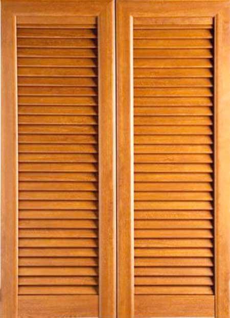 Persiana in legno Bergamo
