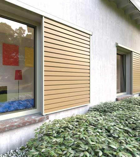 Persiana in legno Cremona