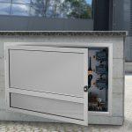 Armadi E Mobiletti In Alluminio Per Esterni Copri Caldaia