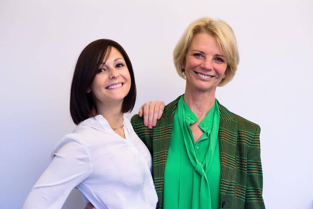 In Fix Hair-team Iris loos en Katrien Van Allemeersch