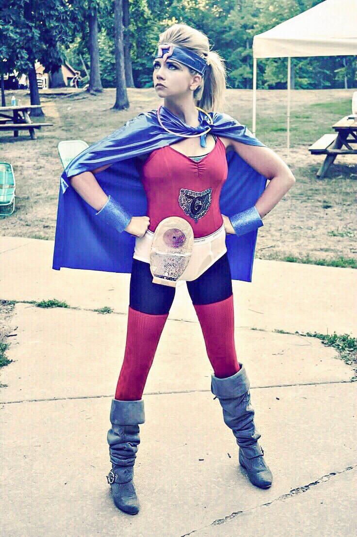 Gut Girl IBD superhero