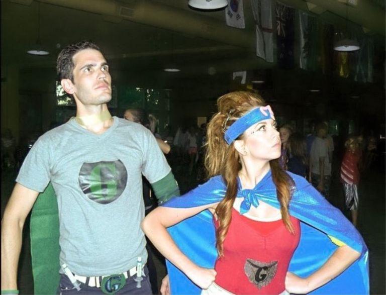 Gut girl and gut guy IBD superheroes