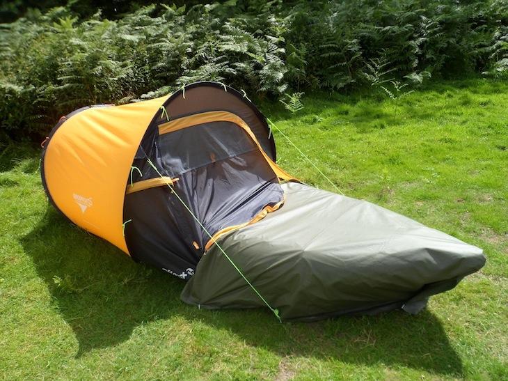 sleeping bag or tent for kayaking