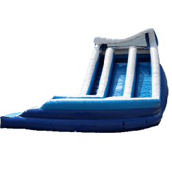 Dual Lane Curvy Waterslide
