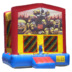 Despicable Me 2 Modular Bounce House