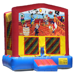 Pirates Cartoon Modular Bounce House