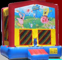 Spongebob Modular Bounce House