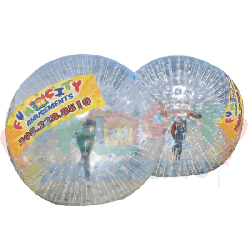 Human Hamster Balls (2) with Barrier Arena