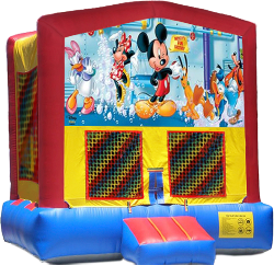 Mickey's Fun Factory Modular Bounce House