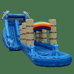 Dolphin Water Slide w/ Slip & Slide