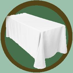 Table Linen for Rectangular Table