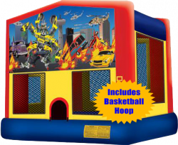 Robocar Jump w/Hoop
