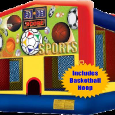 Sports Jump w/Hoop