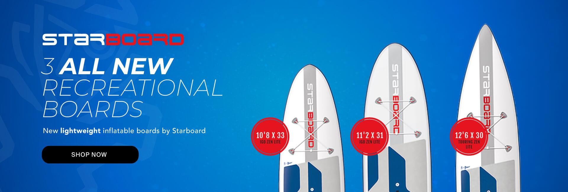2019 Starboard Lightweight Recreational Boards