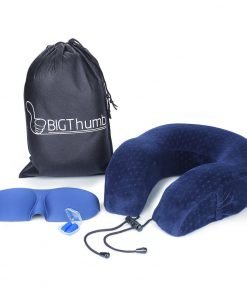bigthumb travel pillow breathable super