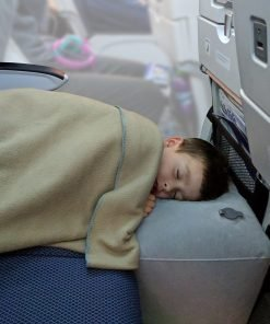 inflatable travel pillow bed leg rest