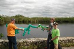 Kids With Gators