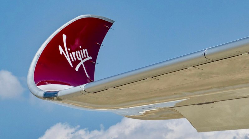Virgin Atlantic A350 winglet