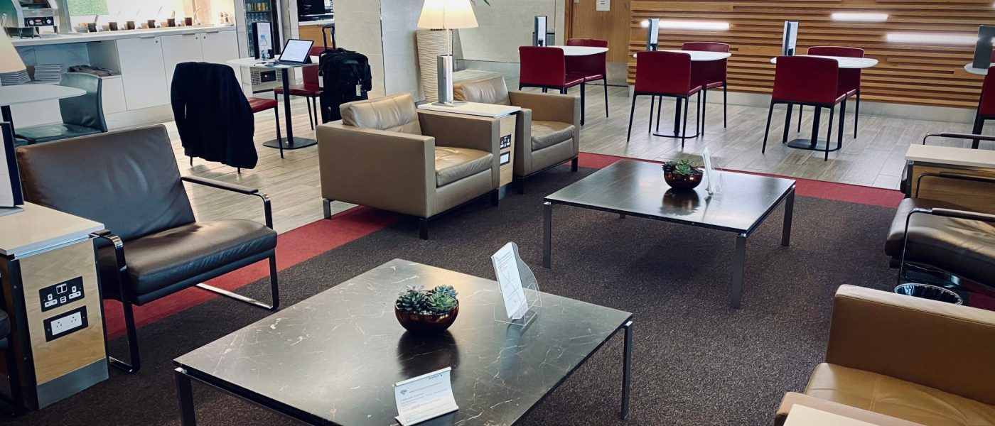 American Airlines Arrivals Lounge, London Heathrow
