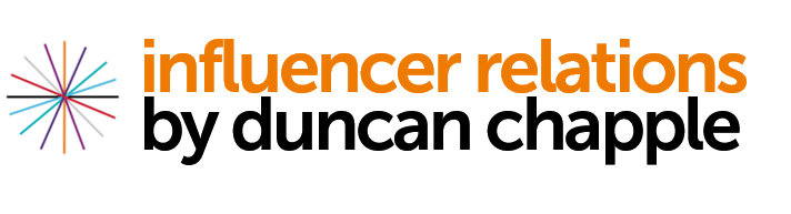 Influencer Relations ¦ Duncan Chapple