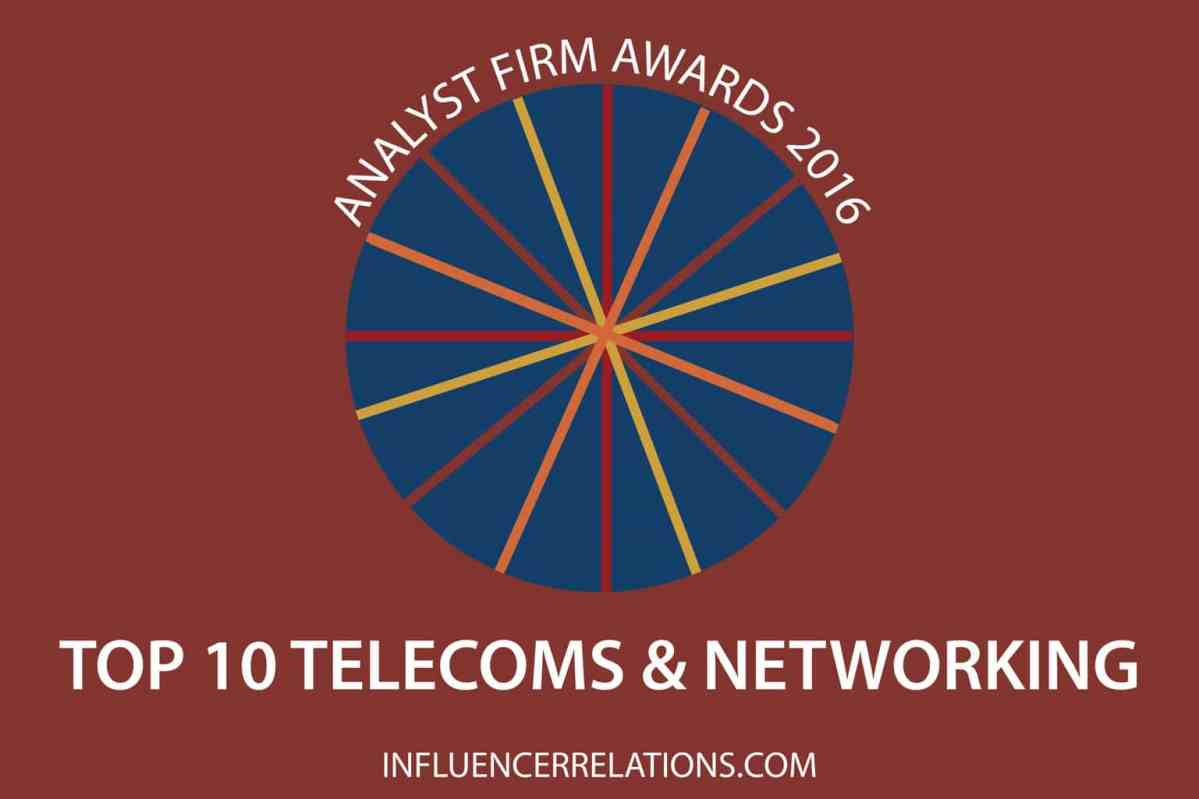 Gartner & IDC win 2016 Telecoms Analyst Firm Awards
