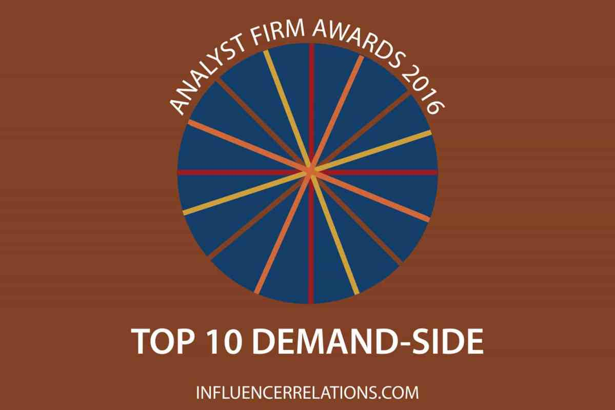 Gartner, HfS & Forrester again top demand-side Analyst Firm Awards