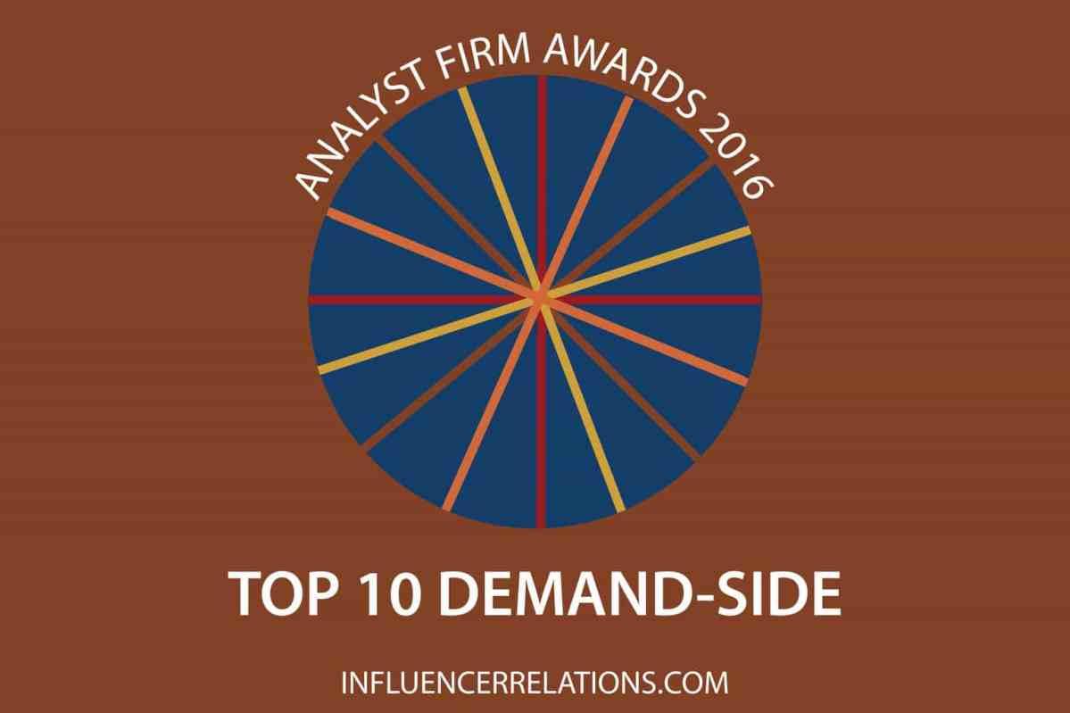 Gartner, HfS & Forrester again top demand-side Analyst Firm Awards