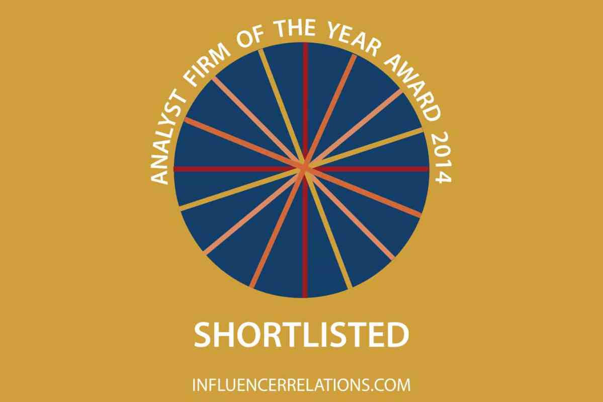 18 firms nominated for our Analyst Firm of the Year 2014 awards