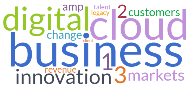 500 analysts say innovation, markets & value challenge major vendors