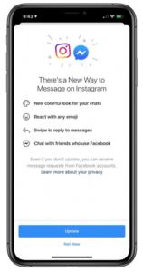 utilisateurs instagram messenger