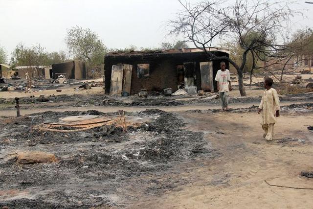 Les alentours de Baga après les assauts de Boko Haram