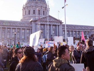 Bannon Protests