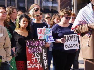 Demonstration für Transgenderrechte