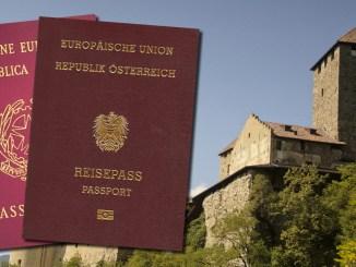 Schloss Tirol, Doppelte Staatsbürgerschaft