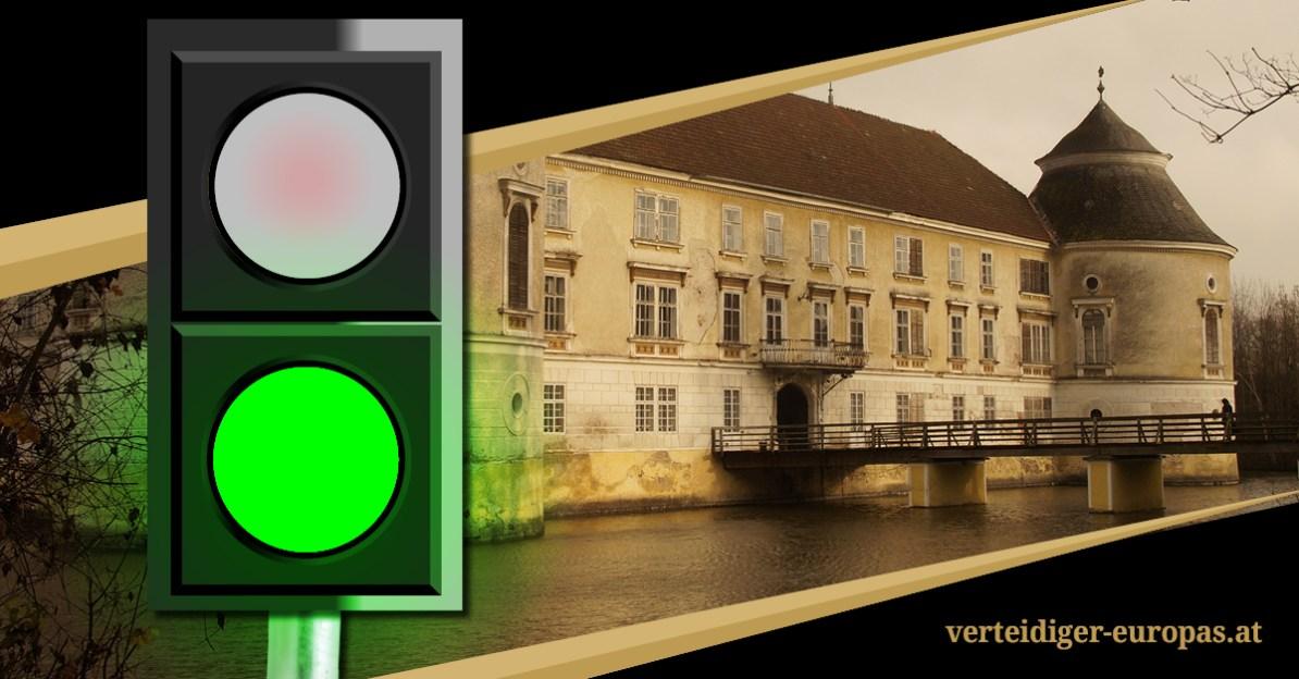 Grünes Licht für Kongress Verteidiger Europas in Aistersheim