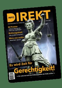 Magazin Info-DIREKT - Zeit für Gerechtigkeit