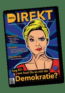Die aktuelle Magazin Info-DIREKT Printausgabe (Nummer 25)