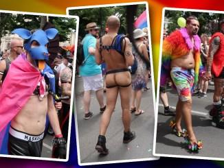 Regenbogenparade / Pride-Parade Wien 2019