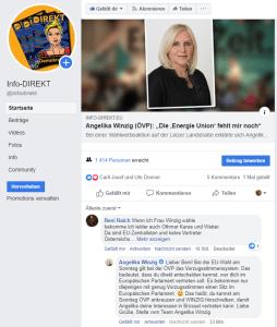 Angelika Winzig, Info-DIREKT