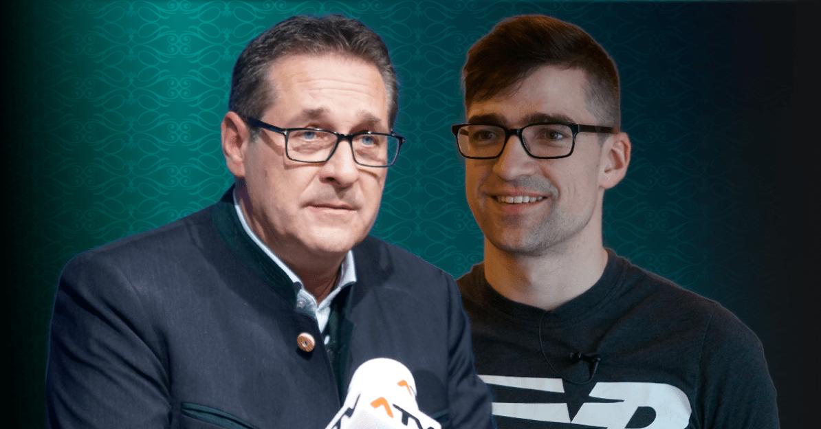 Nach Razzia: Droht HC Strache ein ähnliches Schicksal wie Martin Sellner?