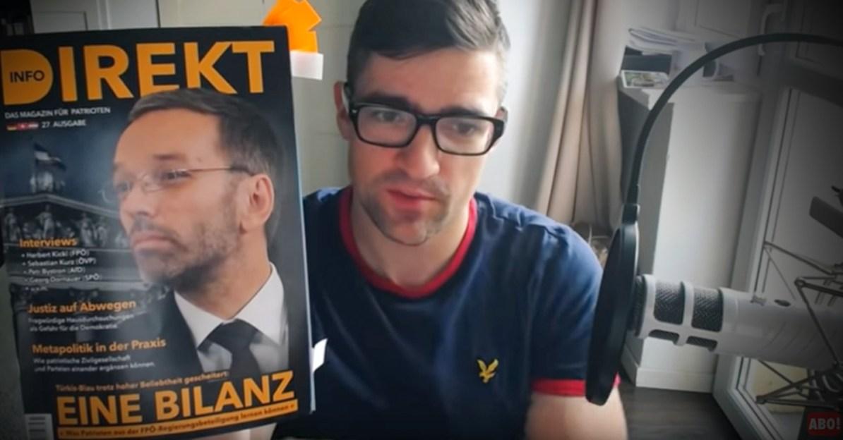 Martin Sellner empfiehlt das Magazin Info-DIREKT
