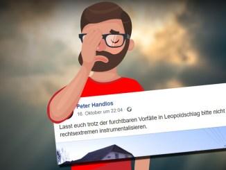 "Peter Handlos (FPÖ) zum Thema ""Rechtsextremismus"""