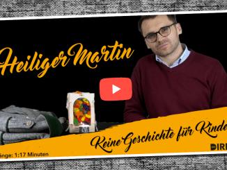 Video-Kommentar: Heiliger Martin kein gutes Vorbild für Kinder