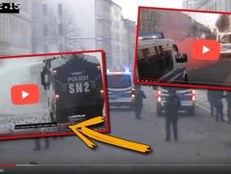 Geleakte Videos zeigen: Massive Antifa-Gewalt gegen Polizei in Leipzig