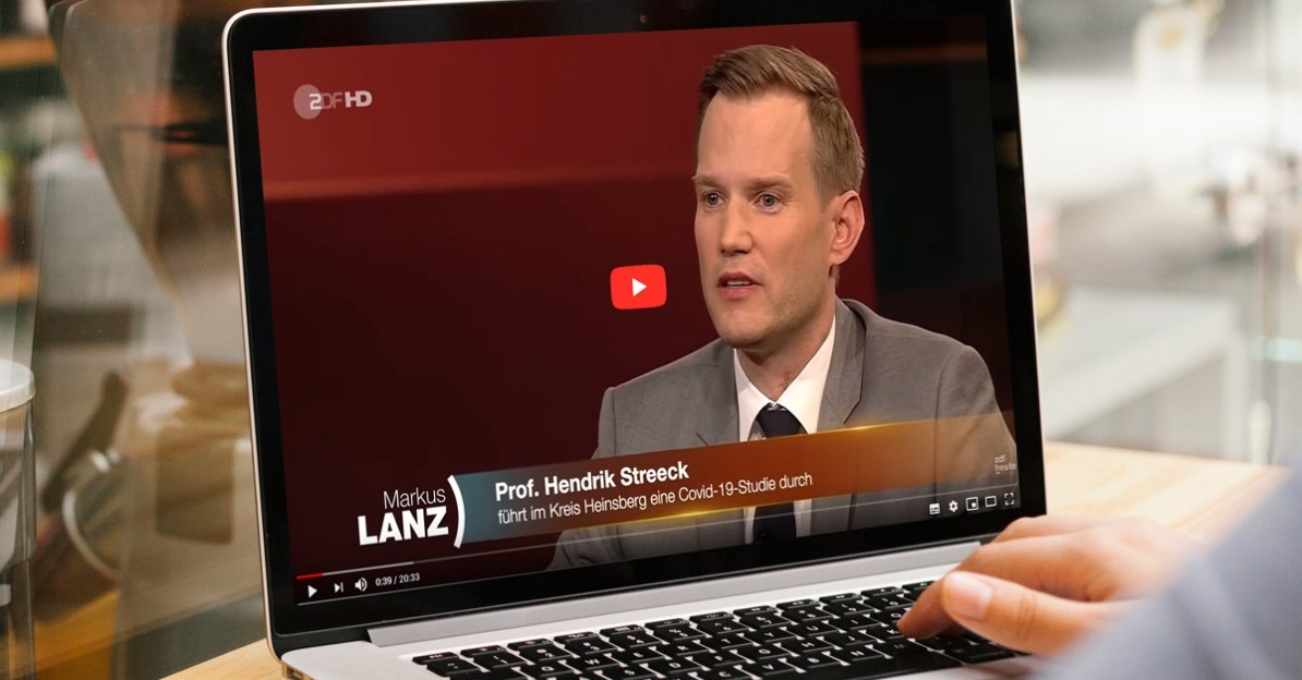 Der bekannte deutsche Virologe Hendrik Streeck kritisiert die Corona-Maßnahmen der Regierung.