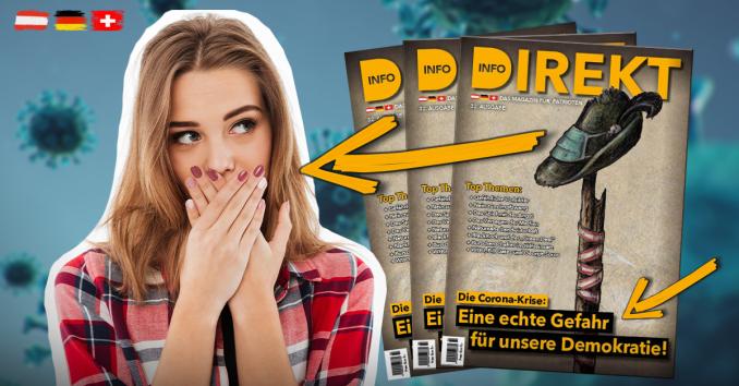 """""""Info-DIREKT - Das Magazin für Patrioten"""", Ausgabe 32"""