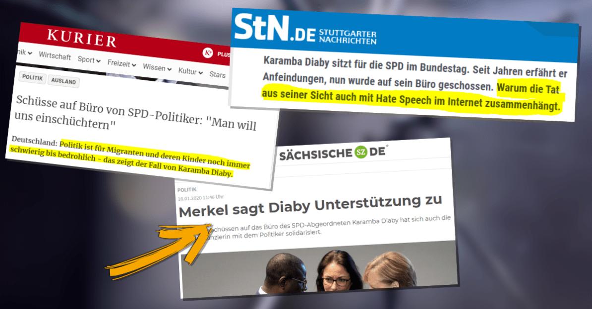 Schüsse auf SPD-Büro in Halle: Was die Medien verschwiegen!