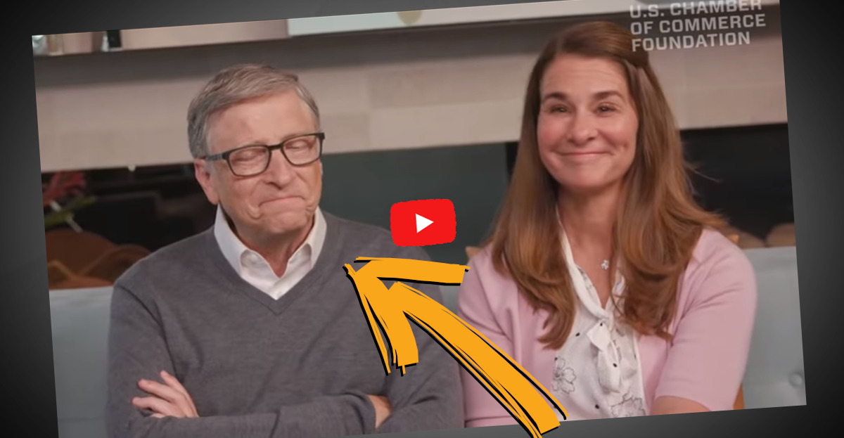Sagten Melinda und Bill Gates wirklich ein neues Virus voraus und grinsten dabei?