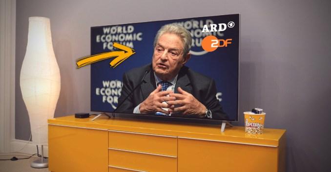 Wieviel Soros steckt in ARD und ZDF?