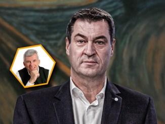 Corona: Markus Söder (CSU) verbreitet Angst und Panik